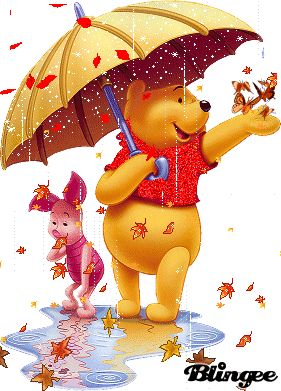 Falling Leaves Animated Wallpaper Winnie The Pooh Autunno Winnie The Pooh Amp Friends