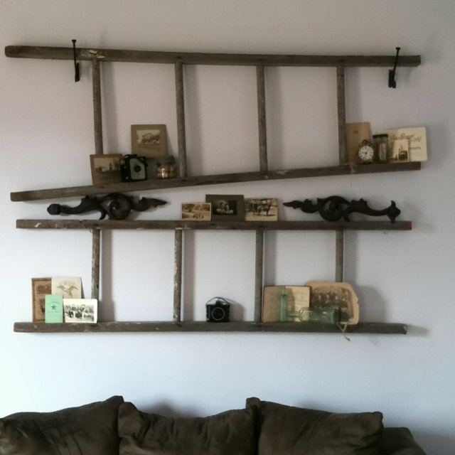 1000 Ideas About Old Wooden Ladders On Pinterest Wooden
