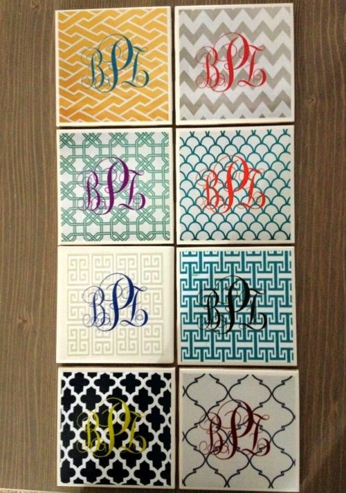 Make Your Own Monogram Iphone Wallpaper 20 Easy Mod Podge Crafts For Beginners Shower Gifts Dry