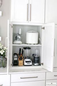 Best 20+ Kitchen appliance storage ideas on Pinterest ...