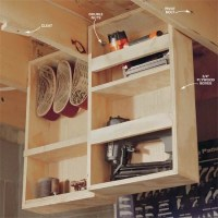 1000+ images about shelves hanging from joists on ...