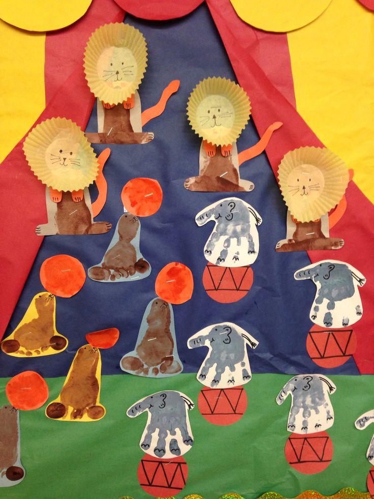 circus crafts preschool