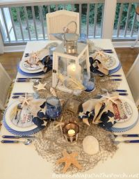 25+ best ideas about Nautical table centerpieces on ...
