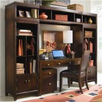 desk wall unit combinations | Tribecca Desk and Bookcase ...