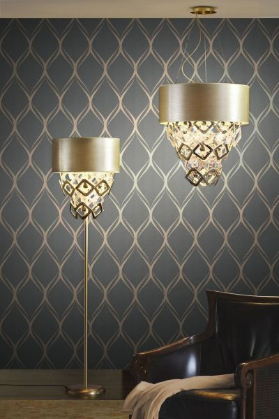 25+ best ideas about Living Room Wallpaper on Pinterest | Geometric wallpaper, Wallpaper ...