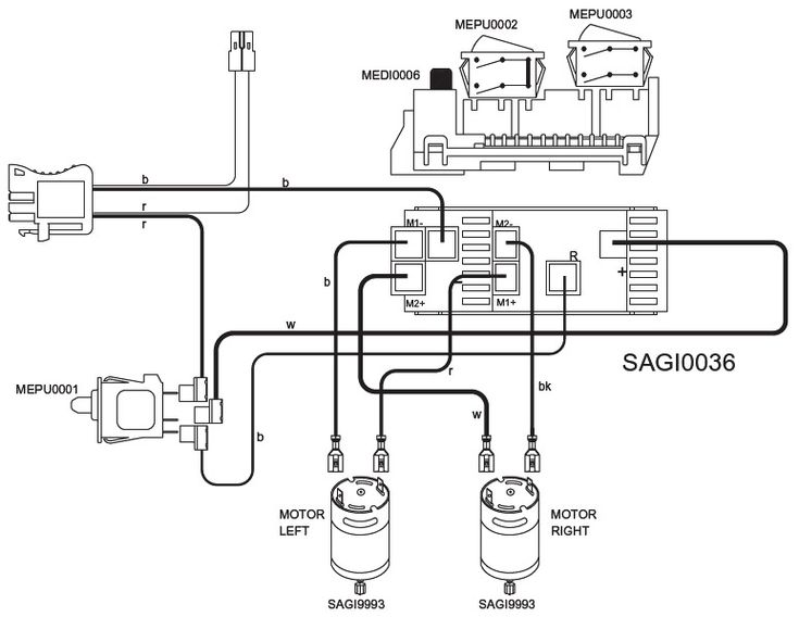 battery wiring diagram of a gator