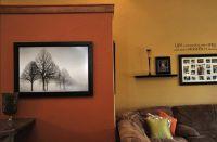 Burnt Orange Paint Color | ... burnt orange accent wall ...