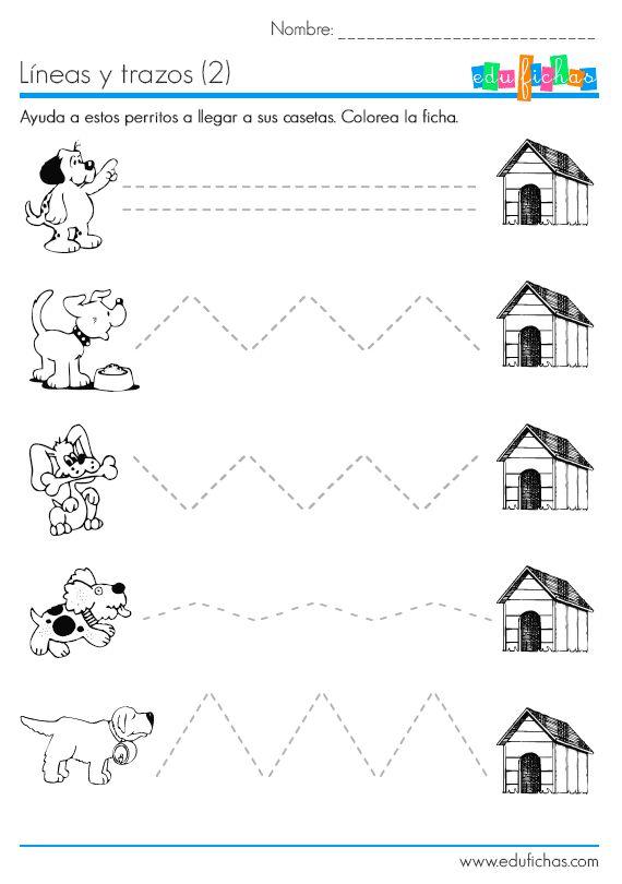 psicomotricidad infantil cuadernillo de apresto para autoficha educativa con lineas y trazos
