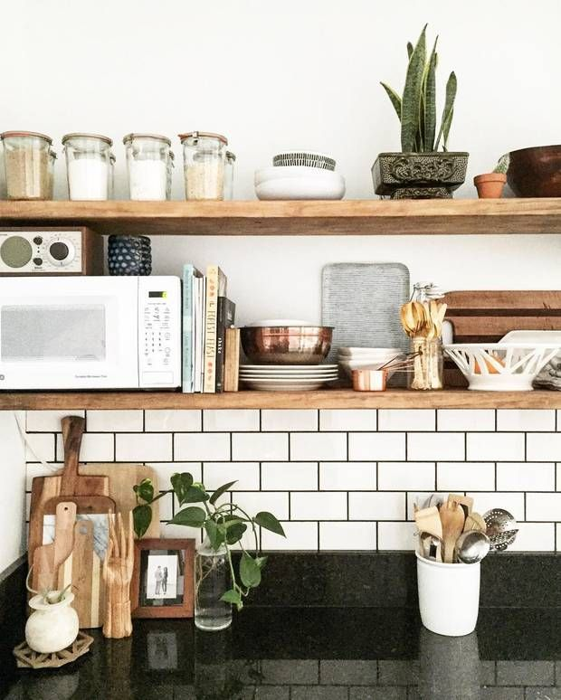 25 Best Ideas About Kitchen Shelves On Pinterest Open