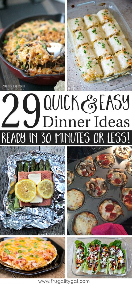 30 Minuten Küche Easy Cooking 30 Minute Meals : A List Of 29 Quick And Easy Dinner