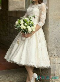 17 Best ideas about 50s Wedding Dresses on Pinterest ...