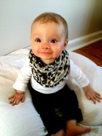 Baby infinity scarf! TOO Cute!   re   Pinterest   Baby ...