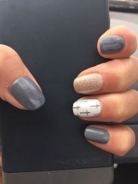 25+ best ideas about Grey Nail Designs on Pinterest ...