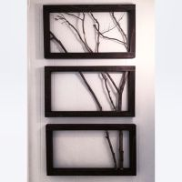 3 Frame Branch Art | Wall Decor | Wall Art | Trees, Stains ...