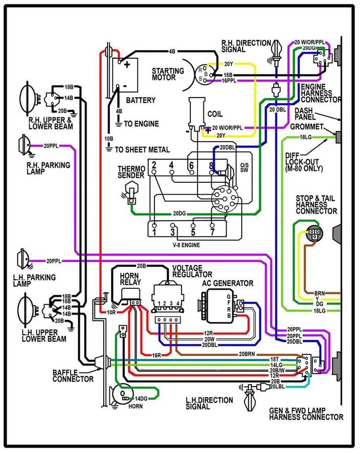 64 chevrolet wiring diagram