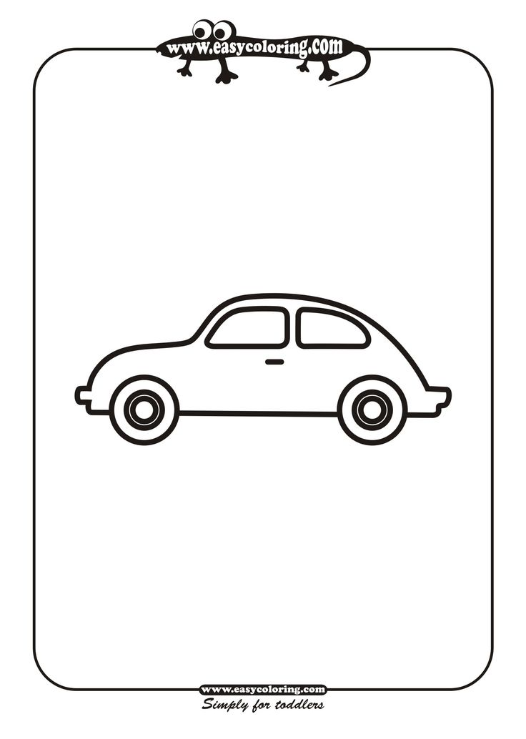 simple automotive ledningsdiagram