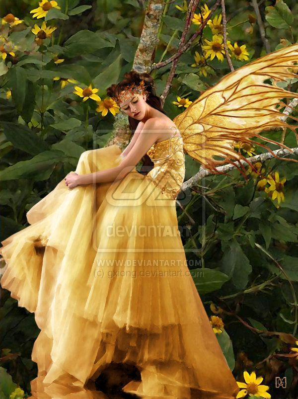 Fall Woodland Creatures Wallpaper Yellow Fairy Dress Costume Ideas For Mid Summer
