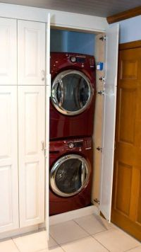 25+ best ideas about Washer dryer closet on Pinterest ...