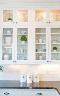 25+ best ideas about Glass cabinet doors on Pinterest