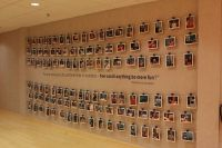 employee photo wall | New Office Space Ideas | Pinterest ...