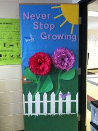 Spring door decorations classroom   Spring Classroom Door ...