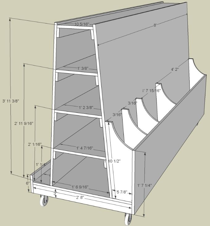 Lumber Storage Plans Woodworking Projects Plans