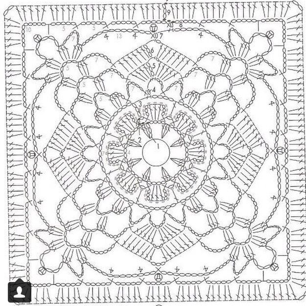 crochet diagrams patterns crochet patterns