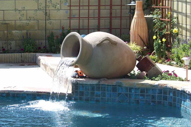 Best Backyard Pool Designs Special Projects Water Features | Concrete Fire Bowls