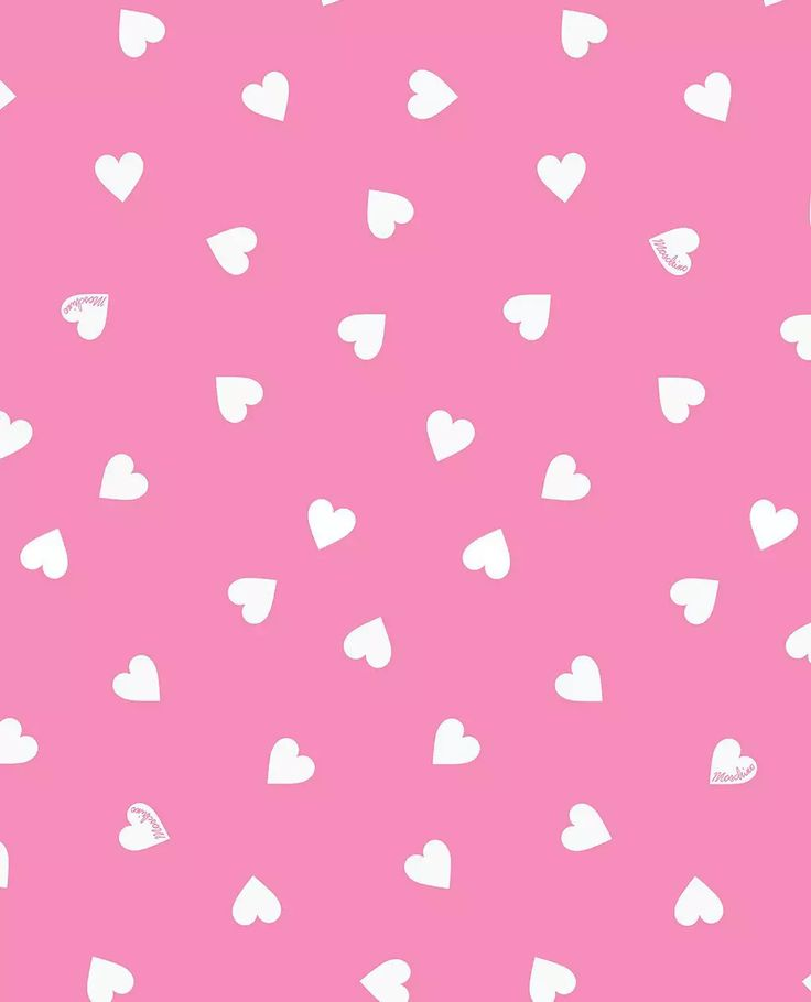 Cute Bow Iphone Wallpaper Moschino Love Heart Pink On We Heart It Hearts