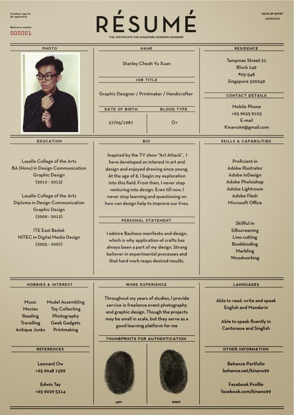 How To Create The Perfect Design Resum Creative Bloq 10 Best Images About Resume On Pinterest Resume Tips