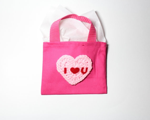 Mystery gift bag surprise treat bag mini canvas tote bag