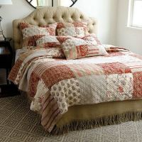 Annabel Heirloom Patchwork Quilted Bedding | Quilt, Bed ...