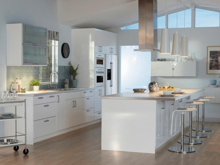 Küche Ikea Abstrakt Cucina Ikea Con Isola | Kitchen | Pinterest | Cucina And Ikea