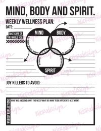 Mental Health Wellness Worksheets. Worksheets ...