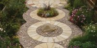 Mint Classic Circle - Paving Slabs for Garden Patio ...