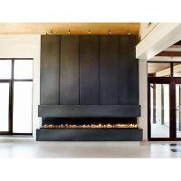 Anthony Concrete Design Linear Concrete Fireplace Surround ...
