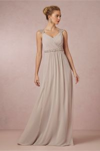 product | Freya Maxi Dress in Dove Grey from BHLDN ...
