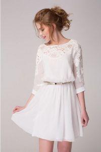 25+ Best Ideas about White Chiffon Dresses on Pinterest ...