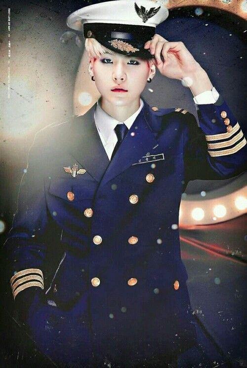 Nice And Cute Wallpaper Aye Aye Captain Suga Bts Bts ‿ ) Pinterest