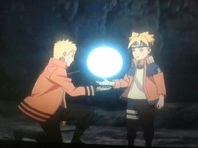 Naruto Quotes Wallpaper Hd Naruto Helping Boruto Make A Giant Rasengan Naruto Nii