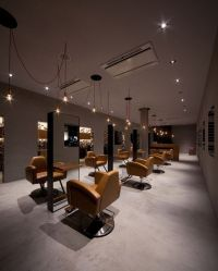Salon Interior Design. | Hair salon | Pinterest | Metals ...