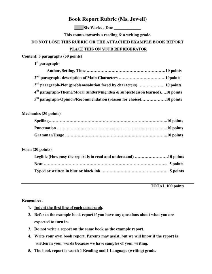 grade 2 book report template hitecauto - book summary template