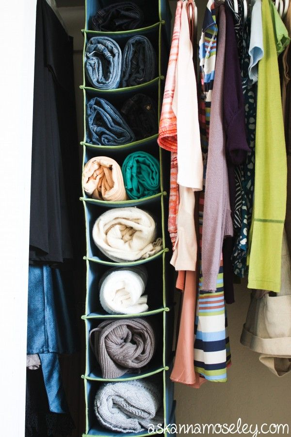 No Closet Space Solutions 12 Curated Sweater Storage Ideas By Bridgitwhite | Shoes