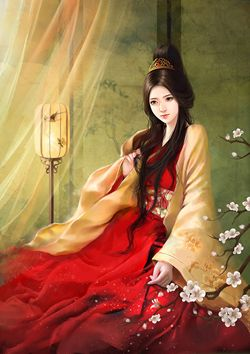 Girls With Lips Wallpaper Daji Was The Favorite Consort Of King Zhou Of Shang The