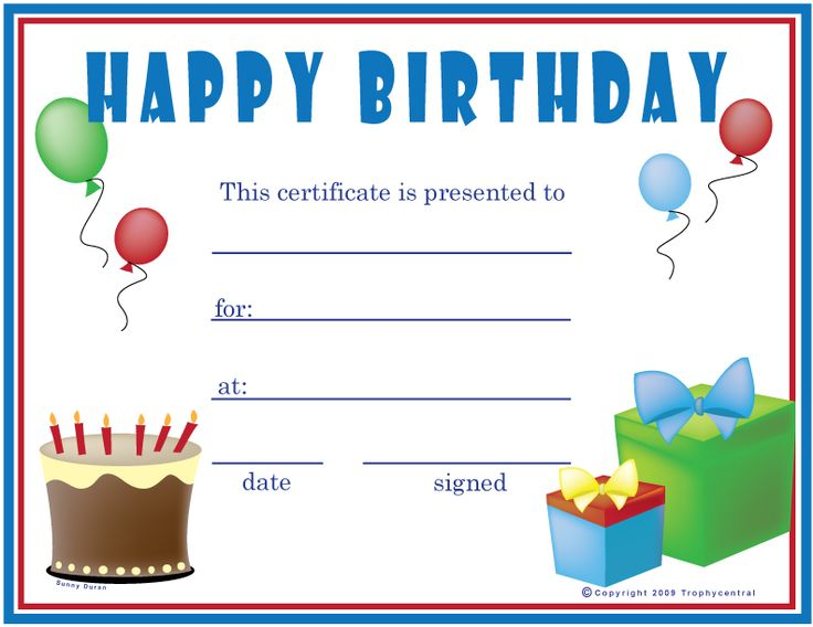 1000+ Ideas About Printable Gift Certificates On Pinterest | Free
