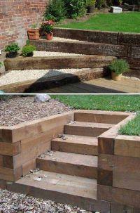 The 25+ best Garden stairs ideas on Pinterest   Landscape ...