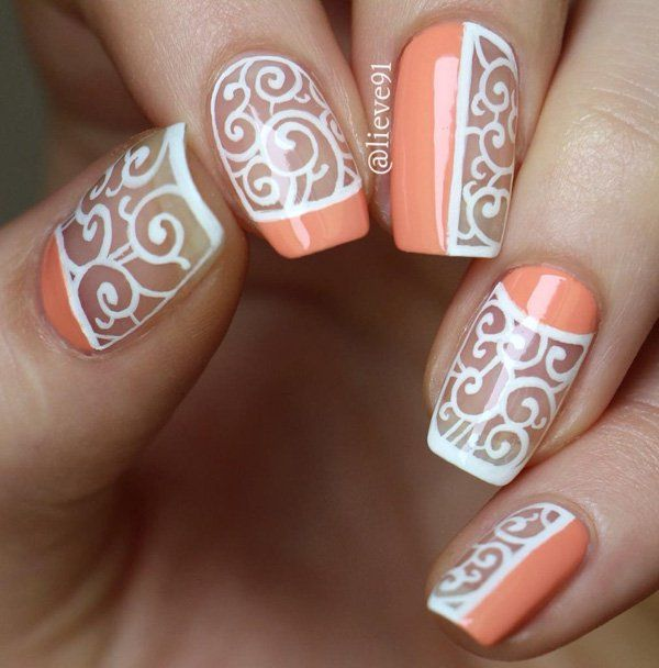 1000 Ideas About Swirl Nail Art On Pinterest Pretty