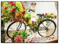 flower shop window display | Ideas for Work | Pinterest ...