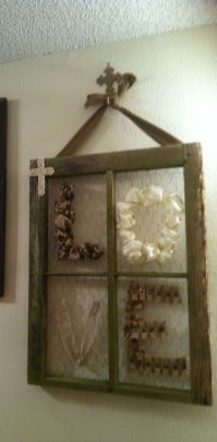 25+ best ideas about Old Window Crafts on Pinterest   Old ...