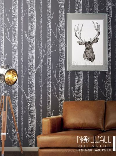 25+ best ideas about Birch Tree Mural on Pinterest | Tree wall, Tree murals and Birch decorations